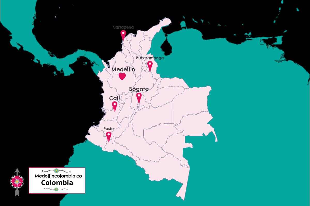 Where Is Medellin Located MedellinColombiaco - Where is bogota
