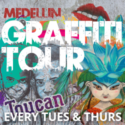 Toucan Medellin Graffiti Tour