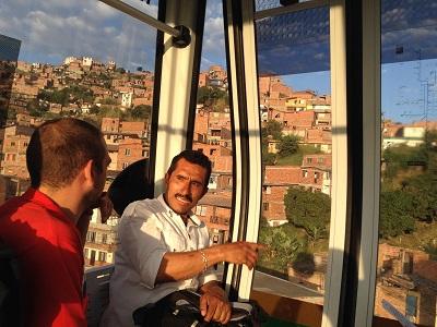 Medellin Metro Cable View