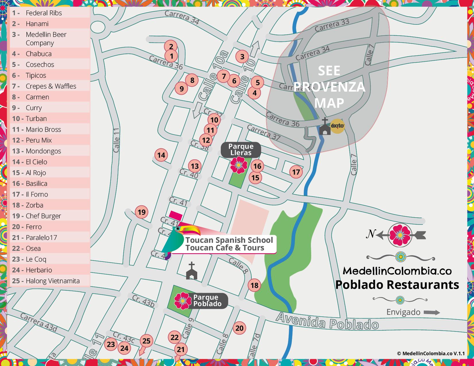 16fa938e Restaurants in Medellin - MedellinColombia.co