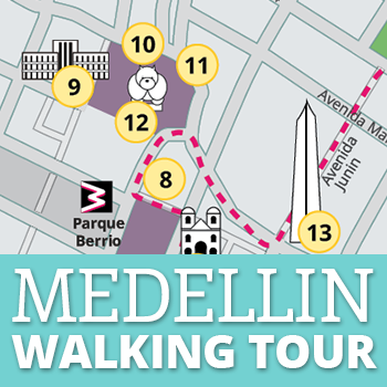 Medellin Walking Tour