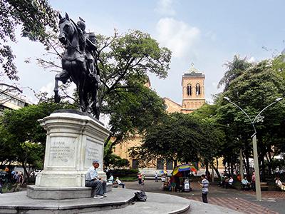 Parque Bolivar Medellin