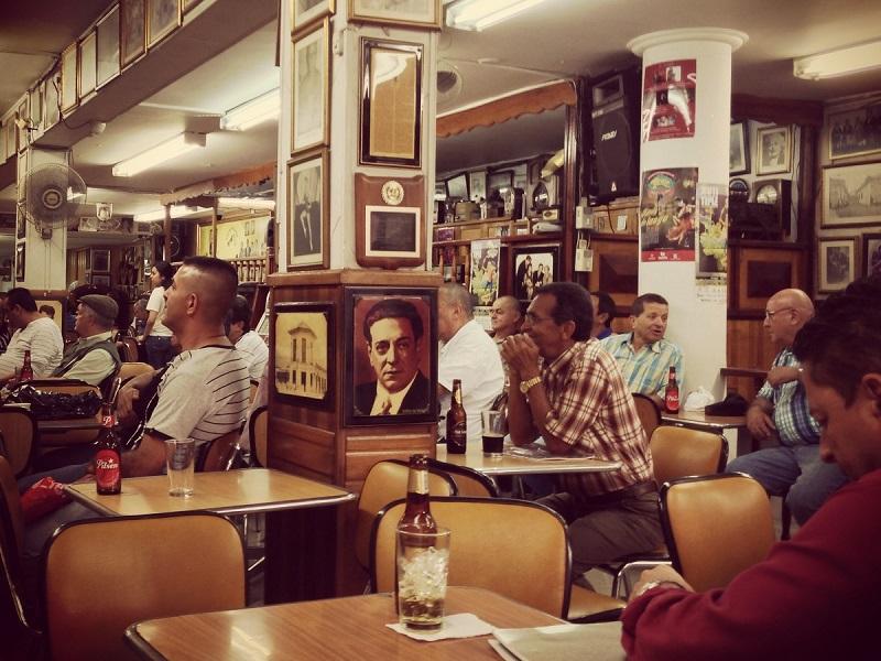 Salon Malaga Tango Cafe